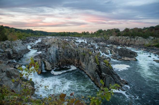 Great Falls Sunset 2