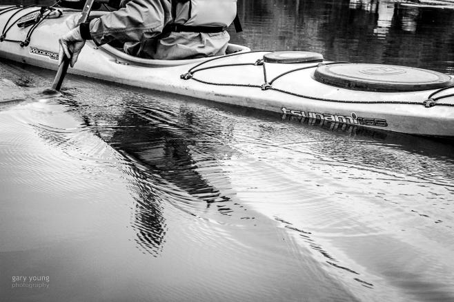 Kayaking - Wakes and Slipstreams